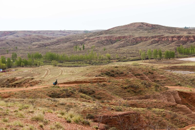 плато Ордос, Внутренняя Монголия, Китай