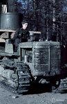 1941-01-01 Трактор (Международная гусеничный трактор) tyss Карма huoltotiell пруд. В октябре 1941 года. Примечание: Такая же ситуация JSdia672. Vrikuvien Брошюра информации. Место: Алакуртти (Salla)-Vilmajoki