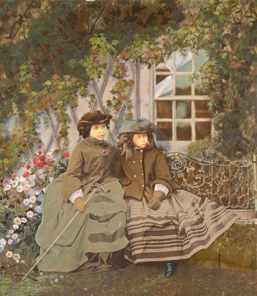 Принцессы Виктория и Алиса, 1856 г.