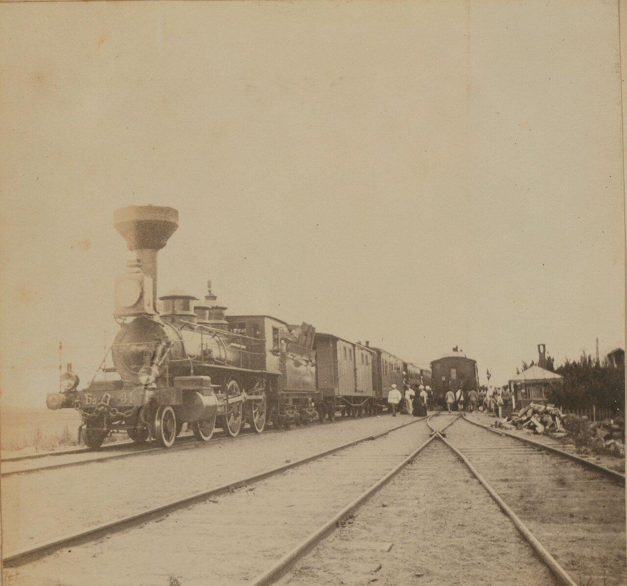 Поезд на Уссурийской ветке