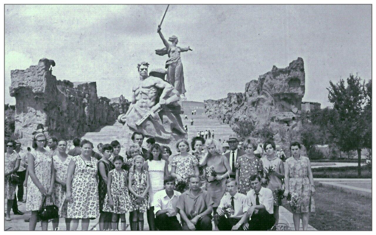 1968. На теплоходе Россия - до Волгограда