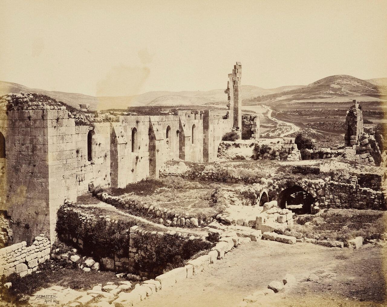 14 апреля 1862. Церковь Святого Иоанна Крестителя, Себастия, Самарии