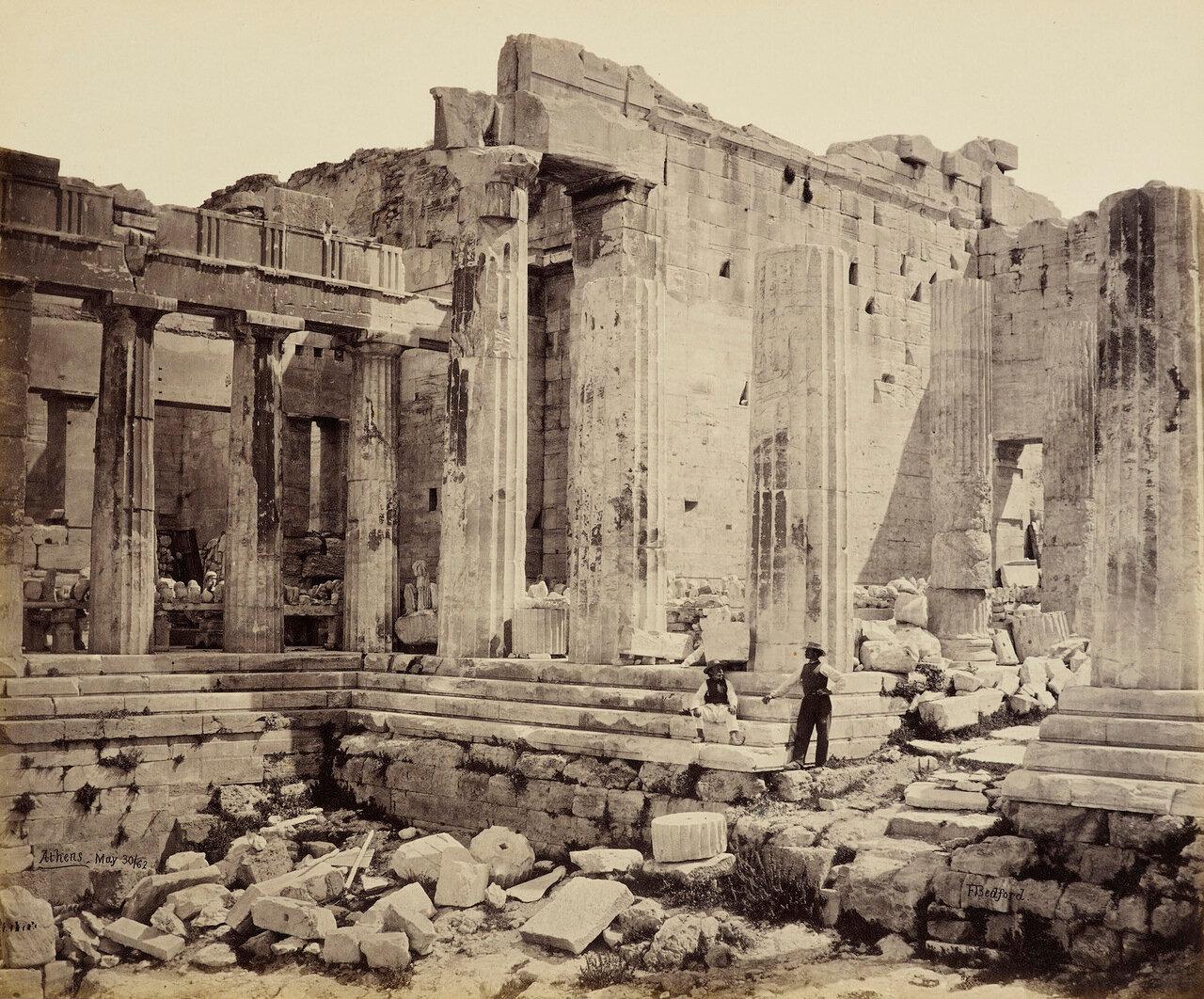 пропилеи афинского акрополя картинки вариант
