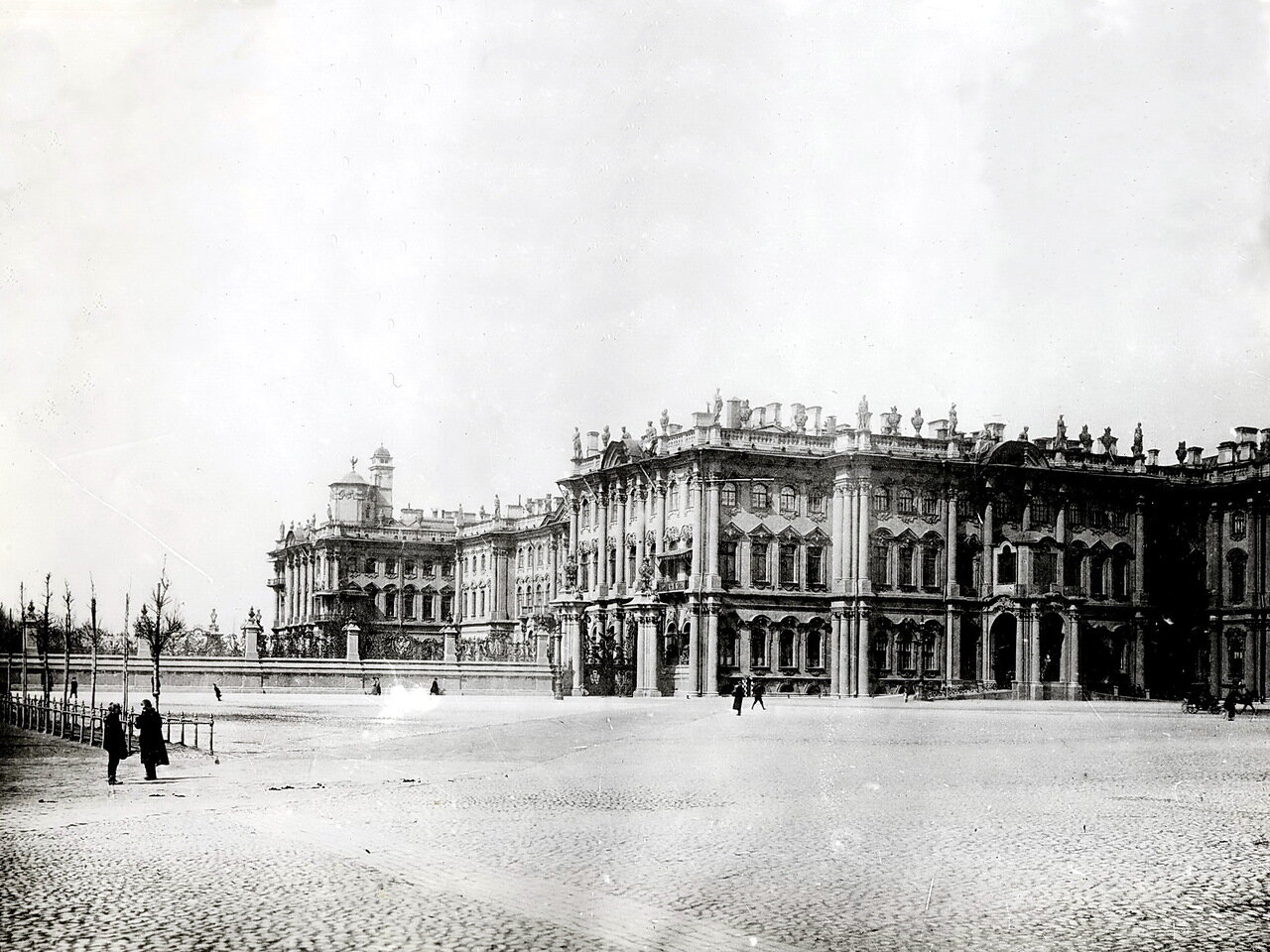 Зимний дворец. Собственный сад 1896 г.
