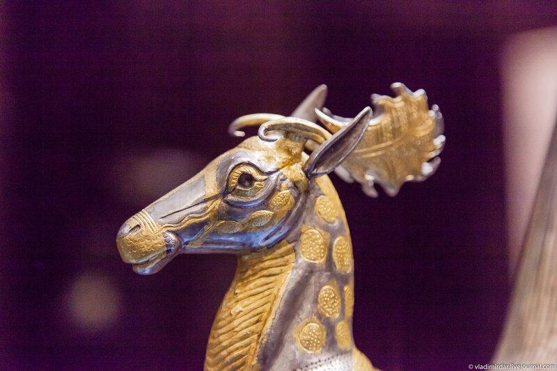 Голова царского оленя