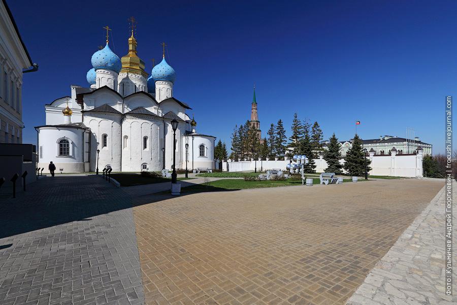 Благовещенский собор Казанский кремль