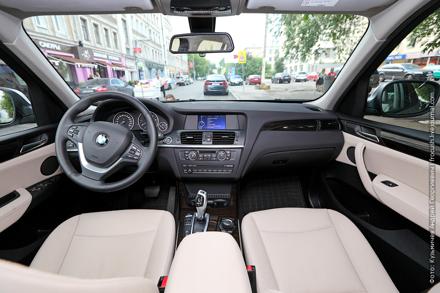 салон BMW X3 xDrive30d
