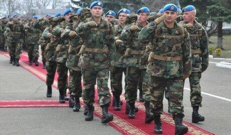 В Косово отправлен четвёртый военный контингент из Молдовы