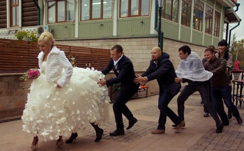 Чего не надо делать на свадьбе