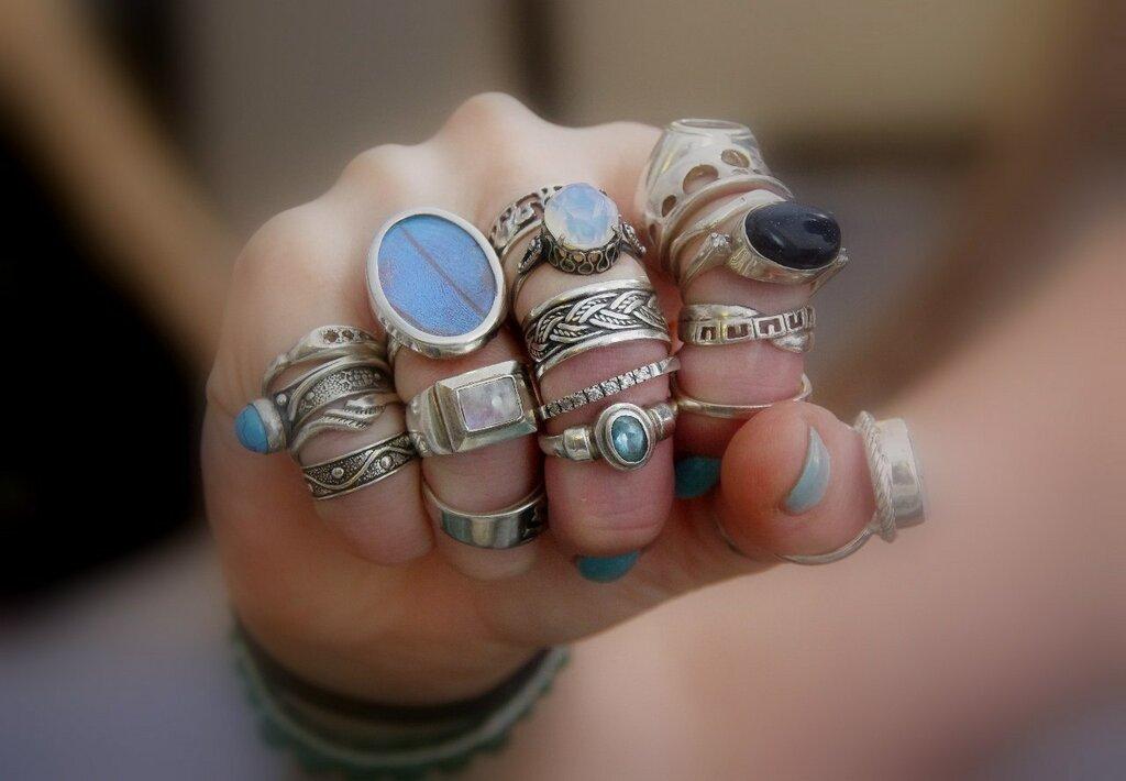кольца 18 века