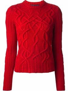 В ветвях аранов - свитер спицами от Ральфа Лорена