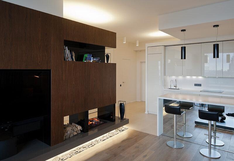 Стильный интерьер небольшой московской квартиры