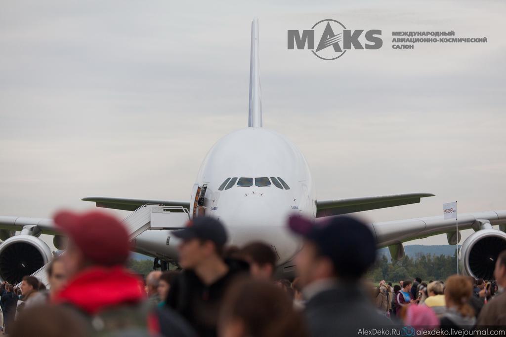 МАКС 2013 авишоу, репортаж