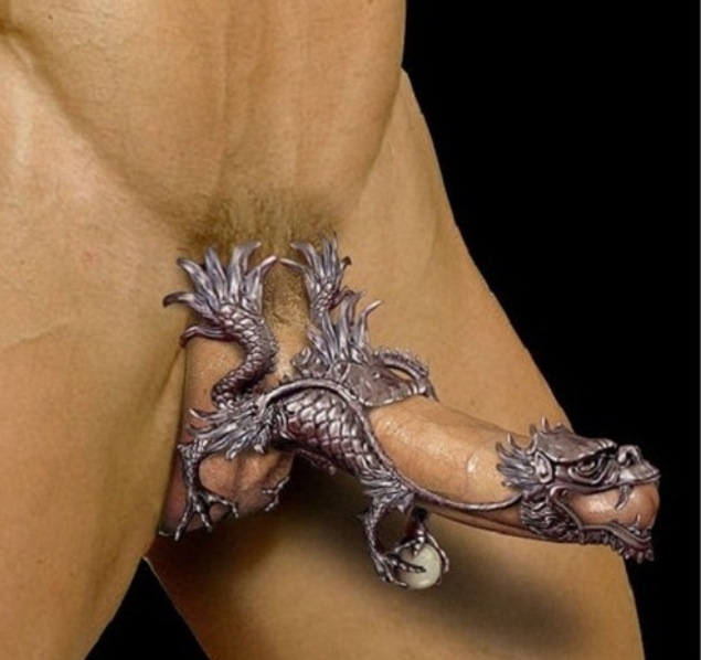 дракон украшение