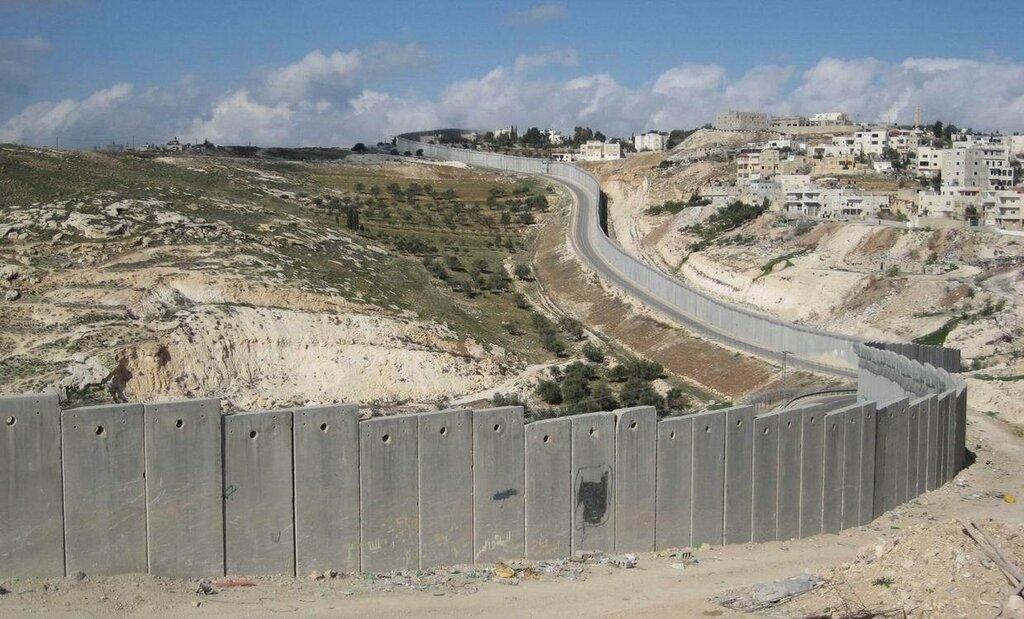 израиль палестина граница