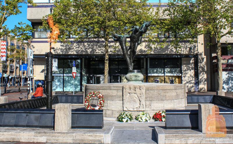 Памятник воинам в Эйндховене