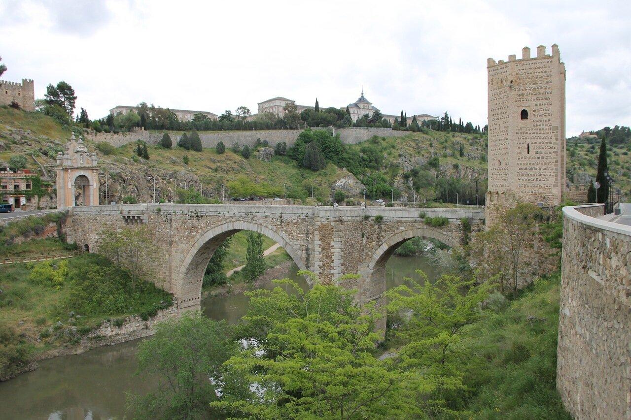 Толедо. Мост Алькантара (Puente de Alcántara)