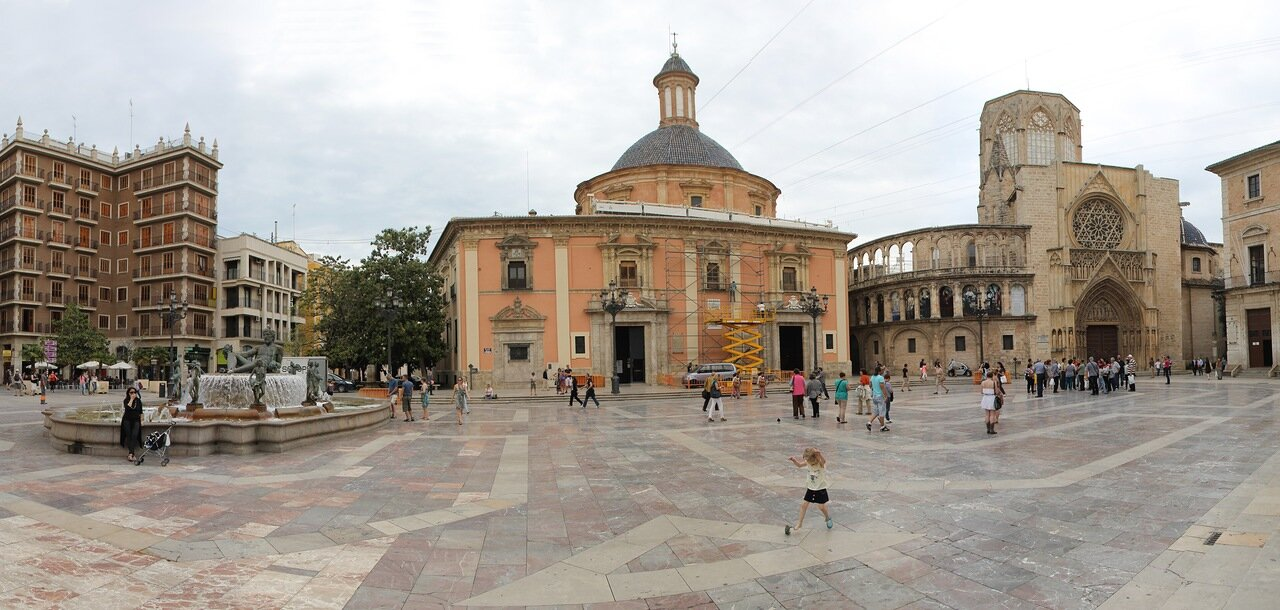 Валенсия. Площадь Вирген (Plaza de la Virgen)