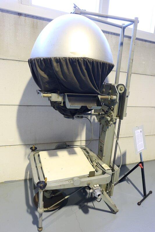 Авиамузей в Вантаа. Оборудование для аэрофотосъемки