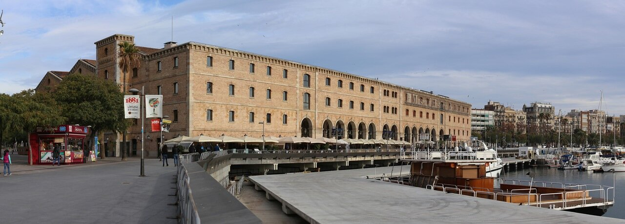 Barcelona. Museum of the history of Catalonia. Panorama