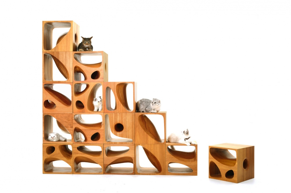 Эти столики созданы специально для любителей кошек. Они очень понравятся кошкам, обожающим исследова