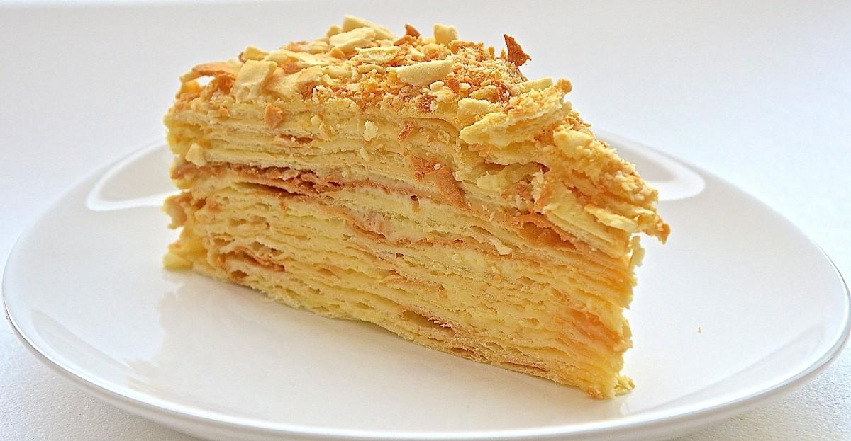 Самый популярный торт тех времен. При этом его не продавали в магазинах и не подавали в ресторанах,