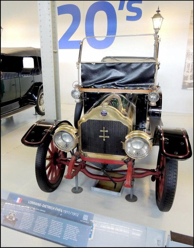 Autoworld 8003 Lorraine-Dietrich FHF4 1911-12
