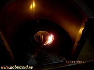 печь на солярке