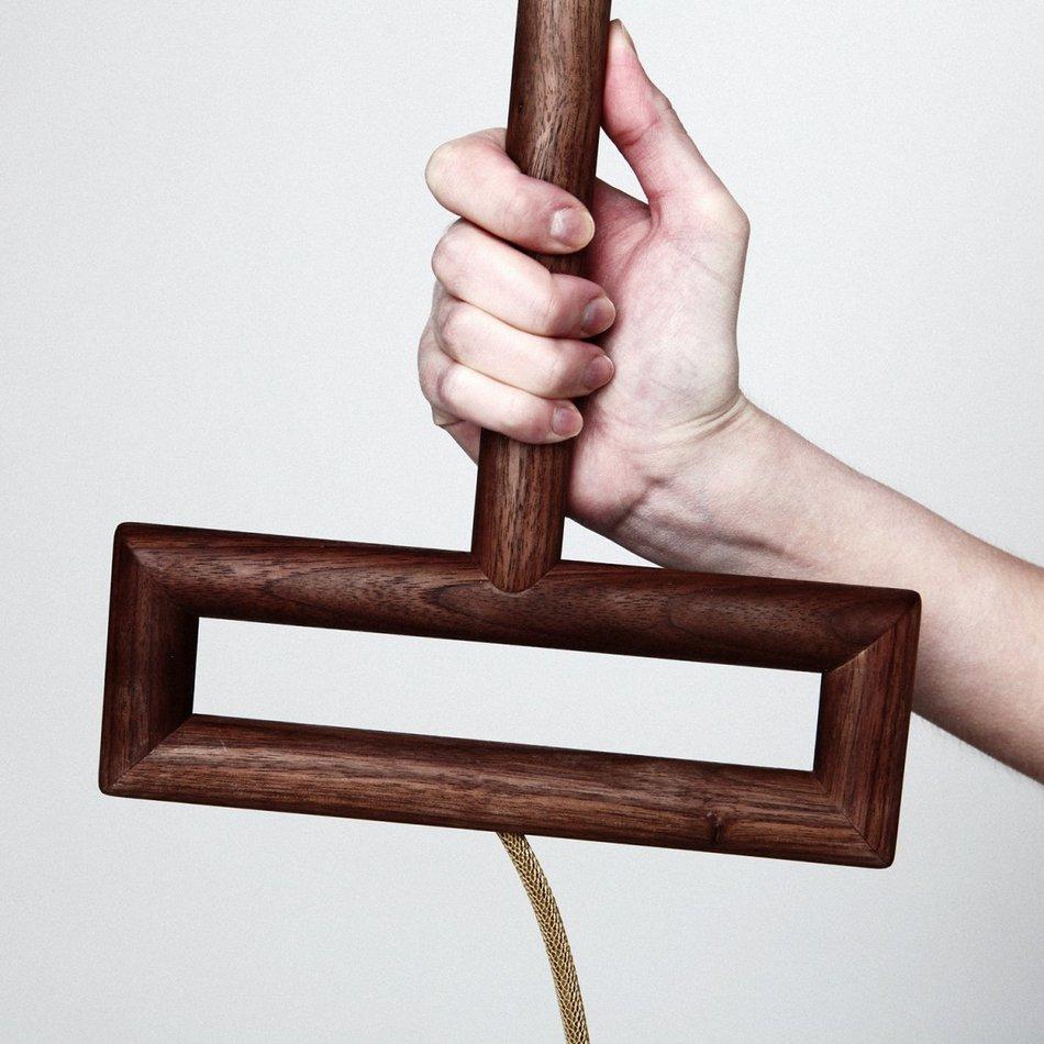 Эксклюзивная настольная лампа Угол от Ярослава Мисонжникова