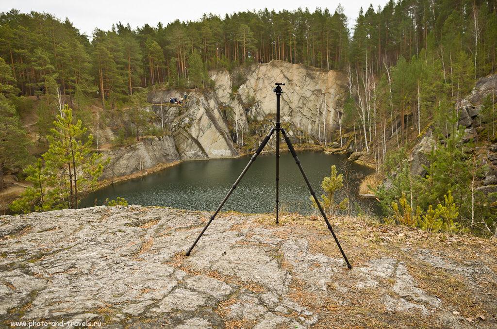 Фото 11. Озеро Тальков камень и штатив Sirui T-2204X. Красивое место мы выбрали для обзора?