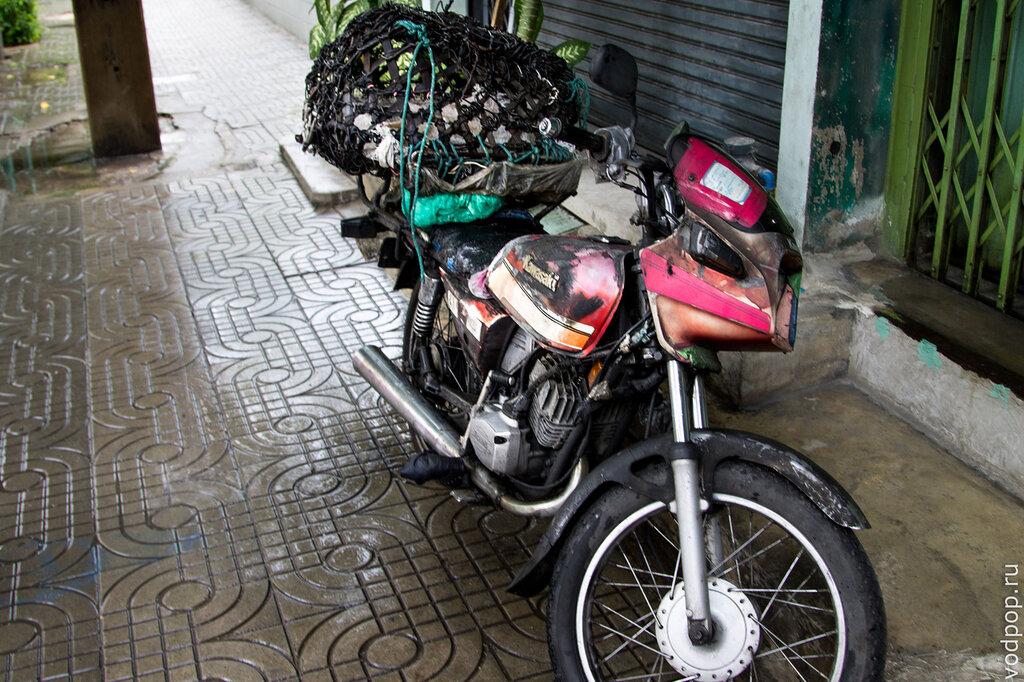 Мотоцикл в Бангкоке