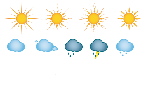 Клипарт погодные условия