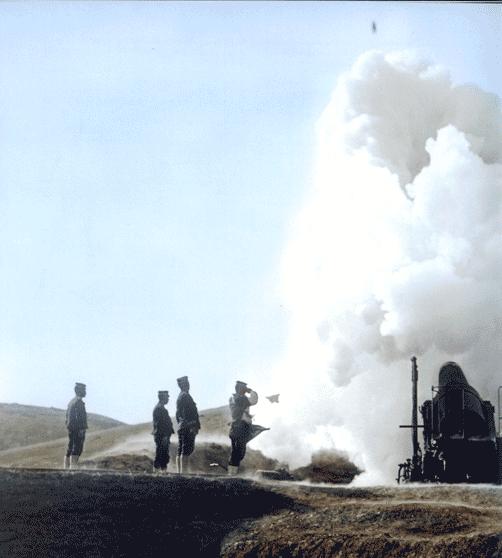 Русско японская война в цвете