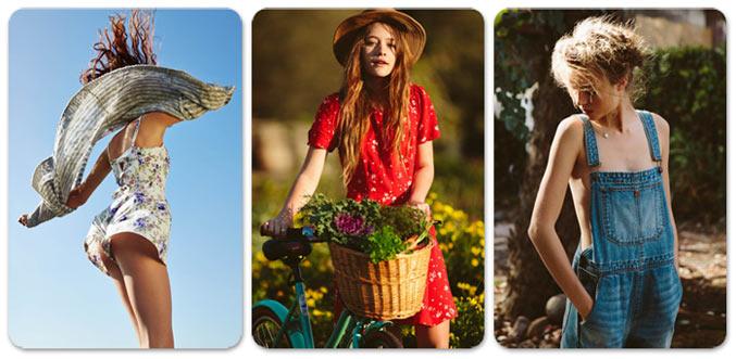 Джозефин Скривер / Josephine Skriver, Teresa Oman, Jena Goldsack, Chaun Loose by Devyn Gallindo for Urban Outfitters pre-spring 2014
