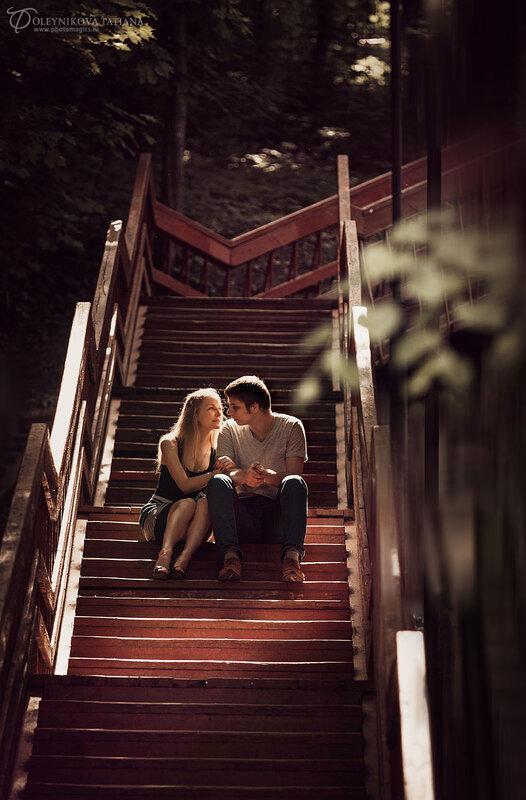 Love-story Женя и Настя