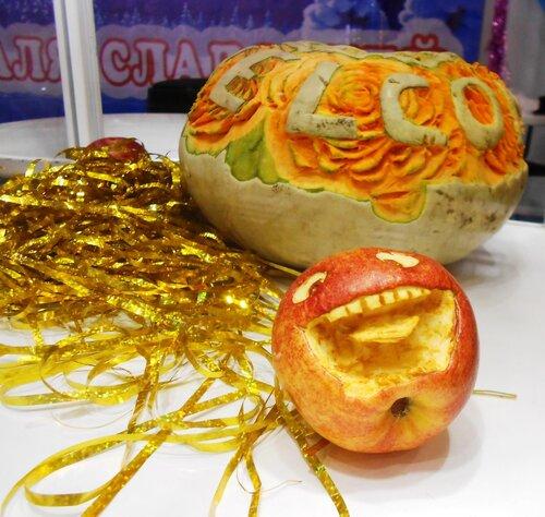 Весёлое яблочко или яблочный смайлик