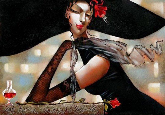 Ира Тсантекиду. Роковая женщина.