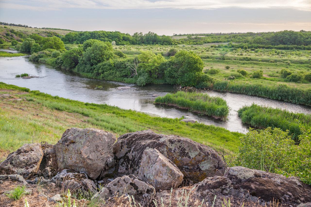 Где находиться река кальмиус
