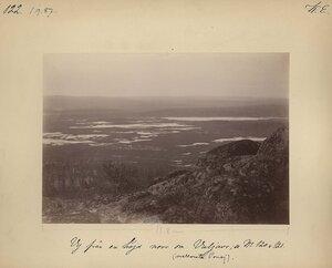 1.9.1887. Вид на озеро Вулъявр с северной стороны, неподалеку от монастыря на реке Поной