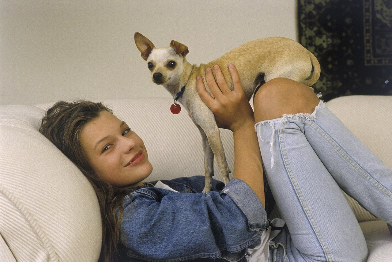 Actress and Model Milla Jovovich