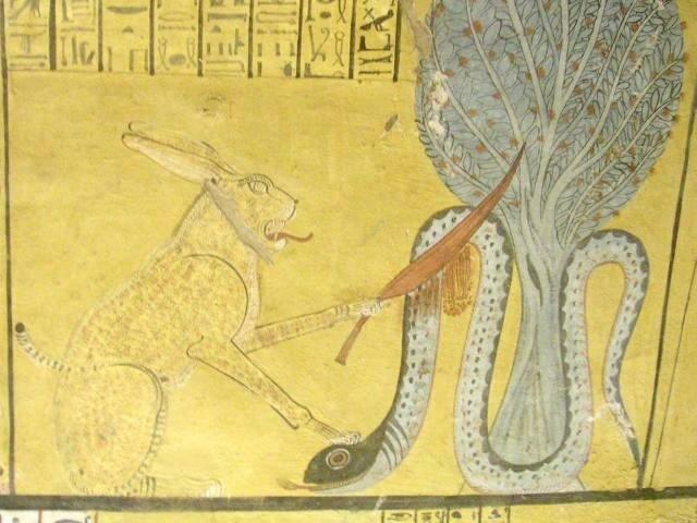 Древний Египет Кот-Змееборец