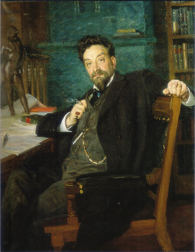 Portrait of professor Karl Warburg, 1905, Richard Bergh(1858-1919);  Gothenburg Museum of Art. Портрет профессора Карла Варбурга 1905, Берг Ричард (1858-1919); Gothenburg Museum of Art