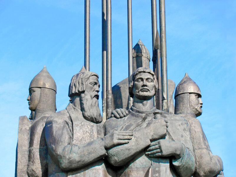 Памятник русской дружине Александра Невского