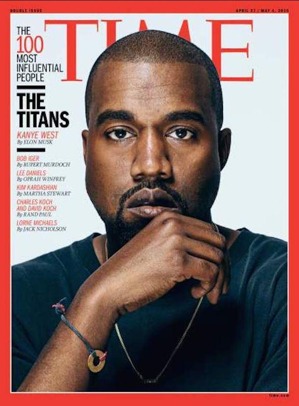 Издание Time в топ-100 влиятельных людей включило Уэста и Кардашян