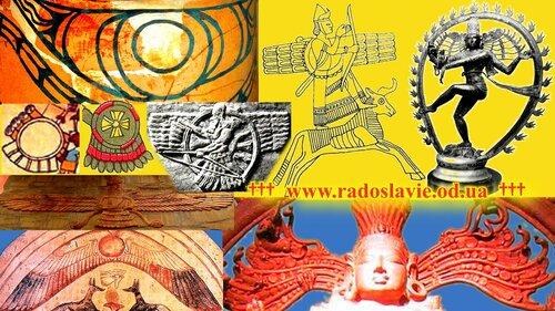 Крылатое Солнце: Трипольская Культура, УРАРТУ, Ассирия, Индия, Египет, Иран, Мезоамерика
