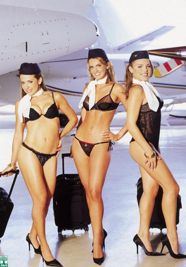 Трусов карибские без авиалинии стюардессы