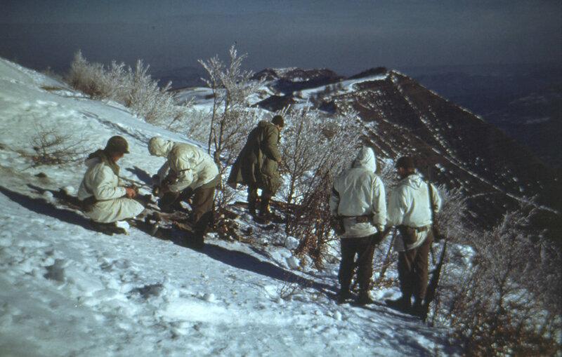 [1945] F Company on Riva Ridge