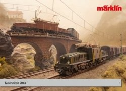 Журнал Marklin. Neuheiten 2013