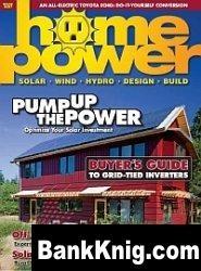 Журнал Home Power No132 October-November 2009 pdf 13Мб