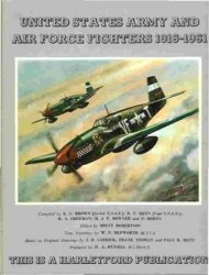 Книга United States Army & Air Force Fighters 1916-1961